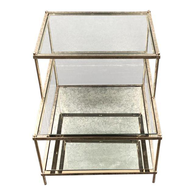 newest collection 3d85a 08900 west-elm-terrace-glass-and-chrome-side-table-5791 | Design ...