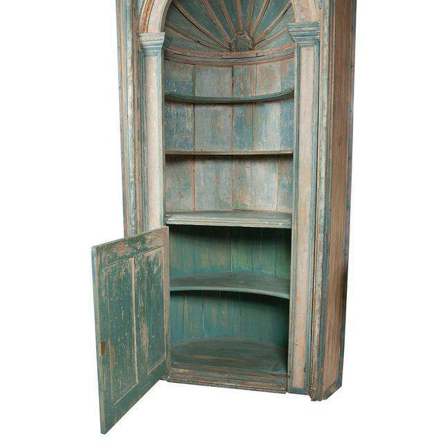Antique French Corner Cabinet 3803