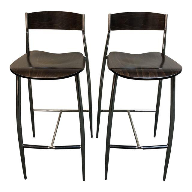 Miraculous Design Within Reach Baba Bar Stools A Pair Original Price Gmtry Best Dining Table And Chair Ideas Images Gmtryco
