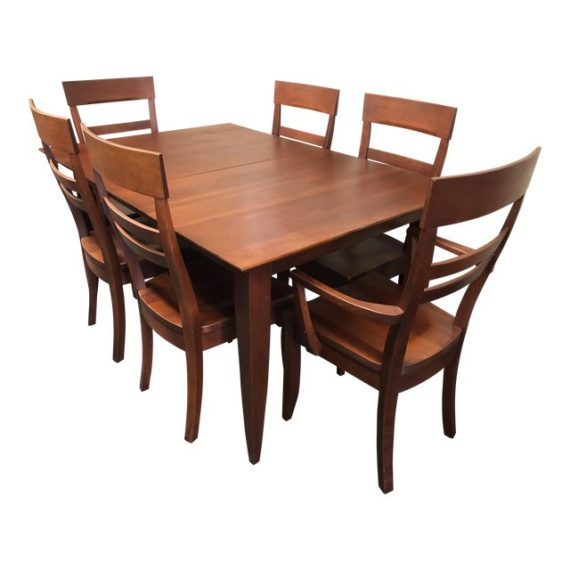 Cherry Dining Table U0026 Chairs Set