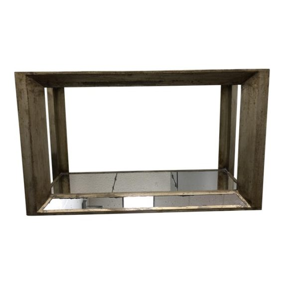 Z Gallerie Pascal Mirrored Console Table Original Price