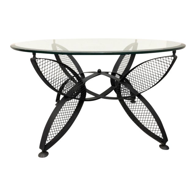 Exceptionnel Maurizio Tempestrini Iron Butterfly Base Coffee Table For John Salterini    Design Plus Gallery