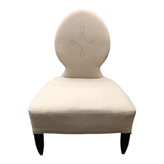 Strange Barbara Barry Opera Slipper Chair Realized By Henredon Ocoug Best Dining Table And Chair Ideas Images Ocougorg