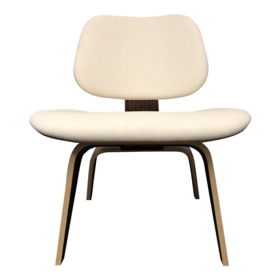 Mid Century Modern Herman Miller Eames Upholstered Molded Plywood Dining  Chair. Original Price: $2,134.00
