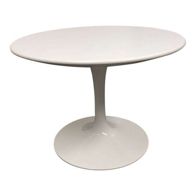 knoll saarinen side table original price 141800 design plus gallery