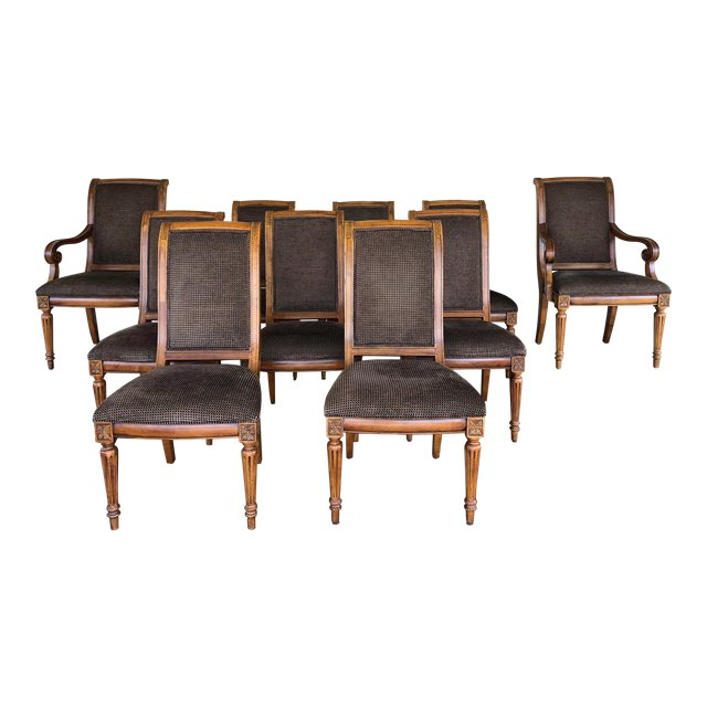 Ethan Allen Dining Room Chairs Set Of, Ethan Allen Dining Room Chairs