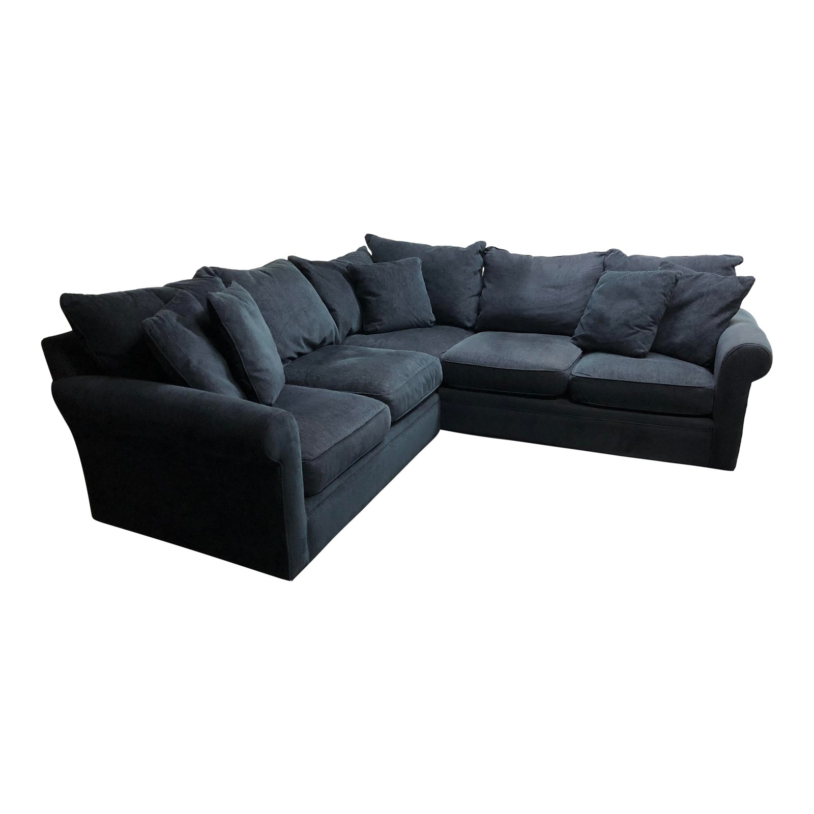Attirant Three Pieces Modern Concepts Sectional. Original Price: $2,574.00