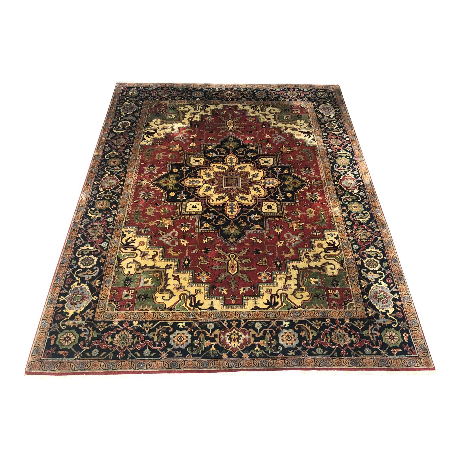 Persian Hand Knotted Wool Rug 10 8 2 Design Plus Gallery