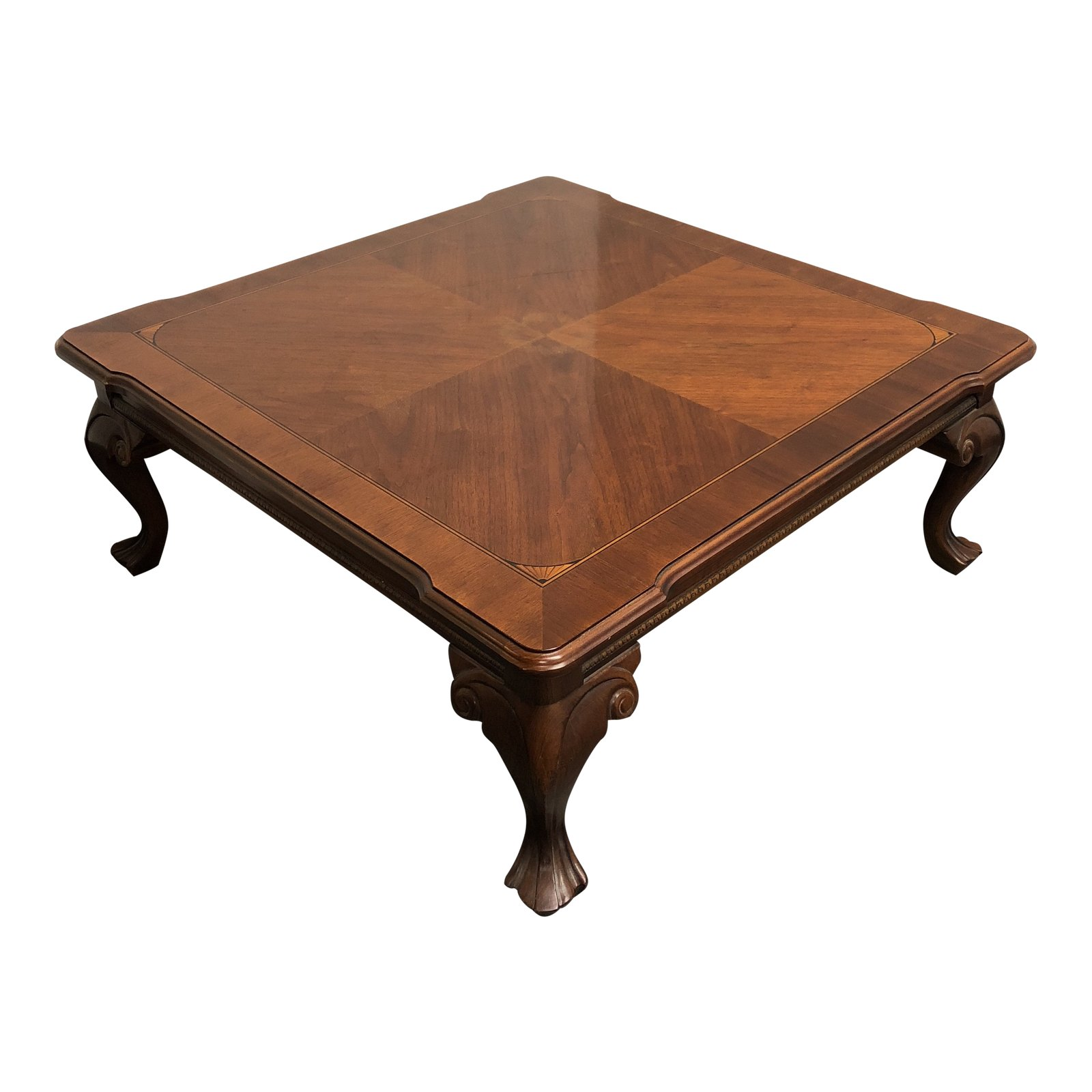 Showplace Custom Wood Coffee Table. Original Price: $3,500.00