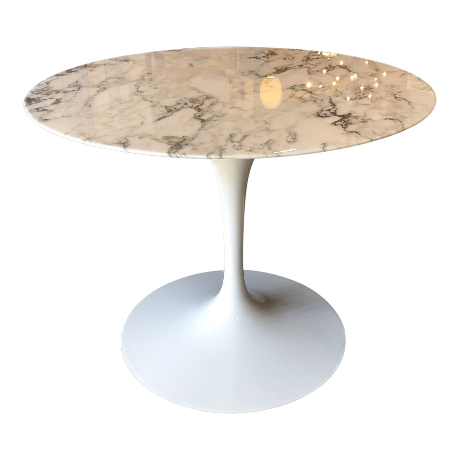 Marble Saarinen Tulip Table For Knoll Original Price - Original saarinen tulip table