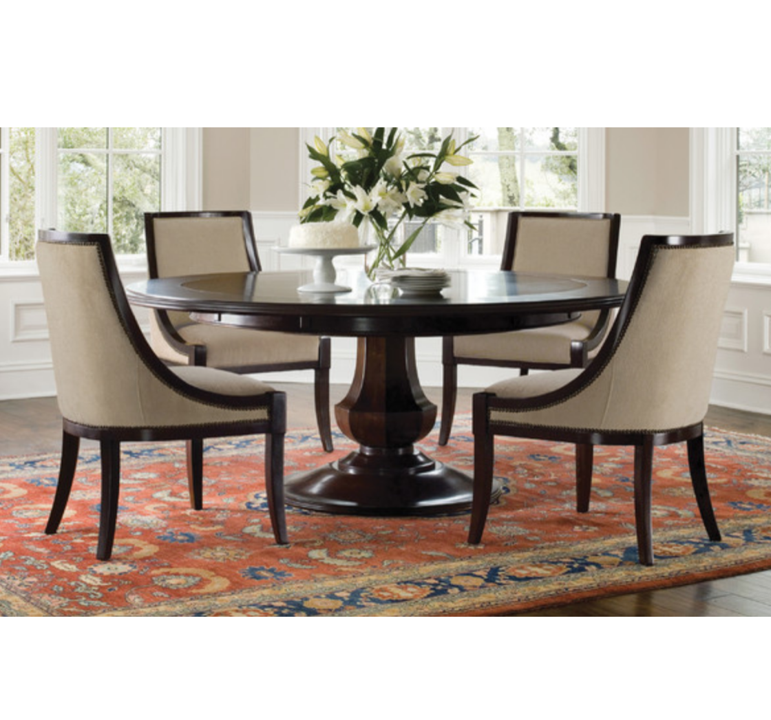 Sienna Expandable Round Dining Table By Brownstone Original Price 5 479 Design Plus Gallery