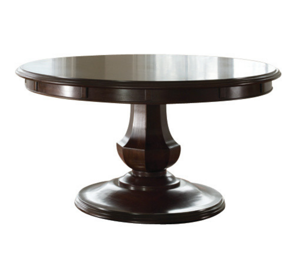 Sienna Expandable Round Dining Table By Brownstone Original