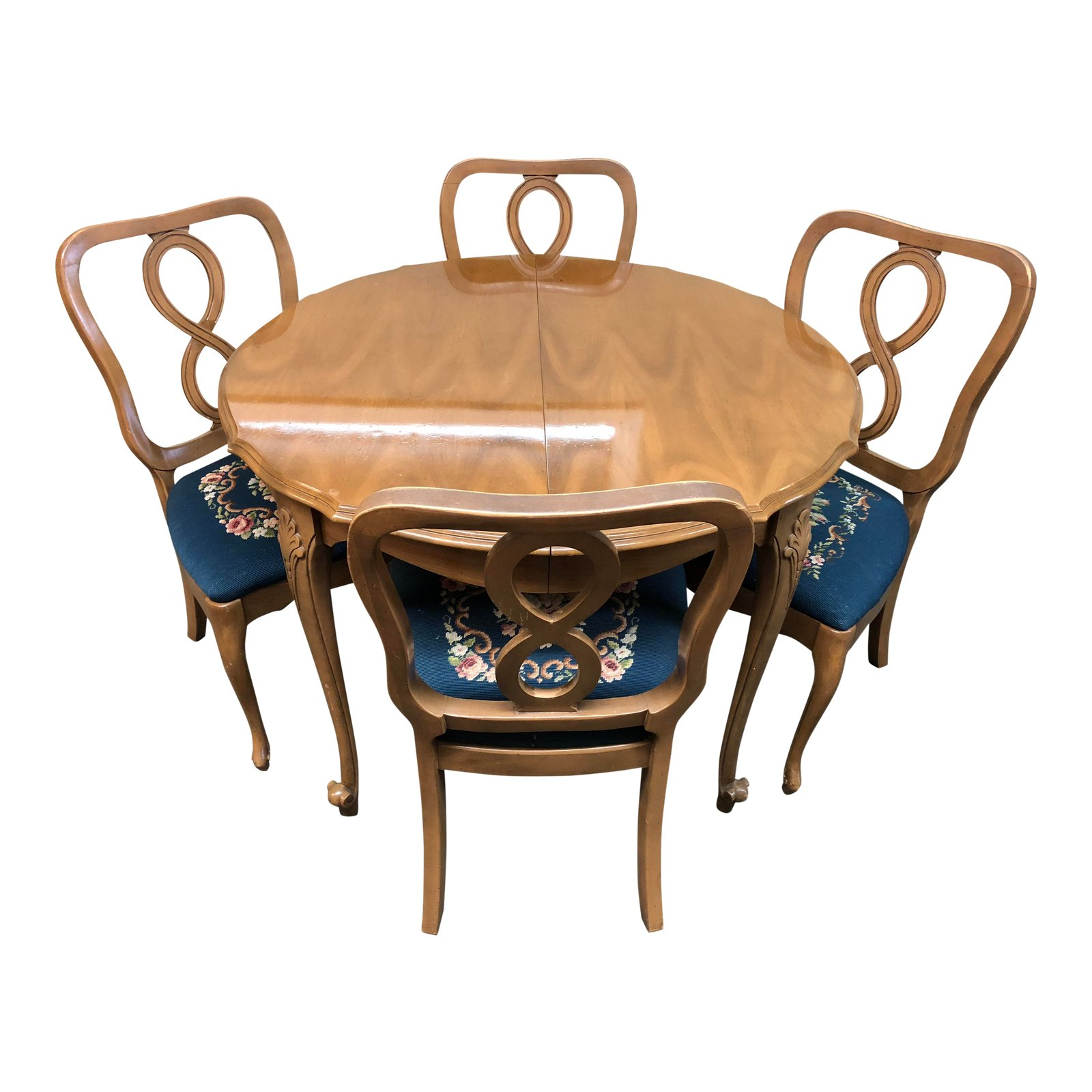 Vintage Herald Furniture Traditional Style Dining Set
