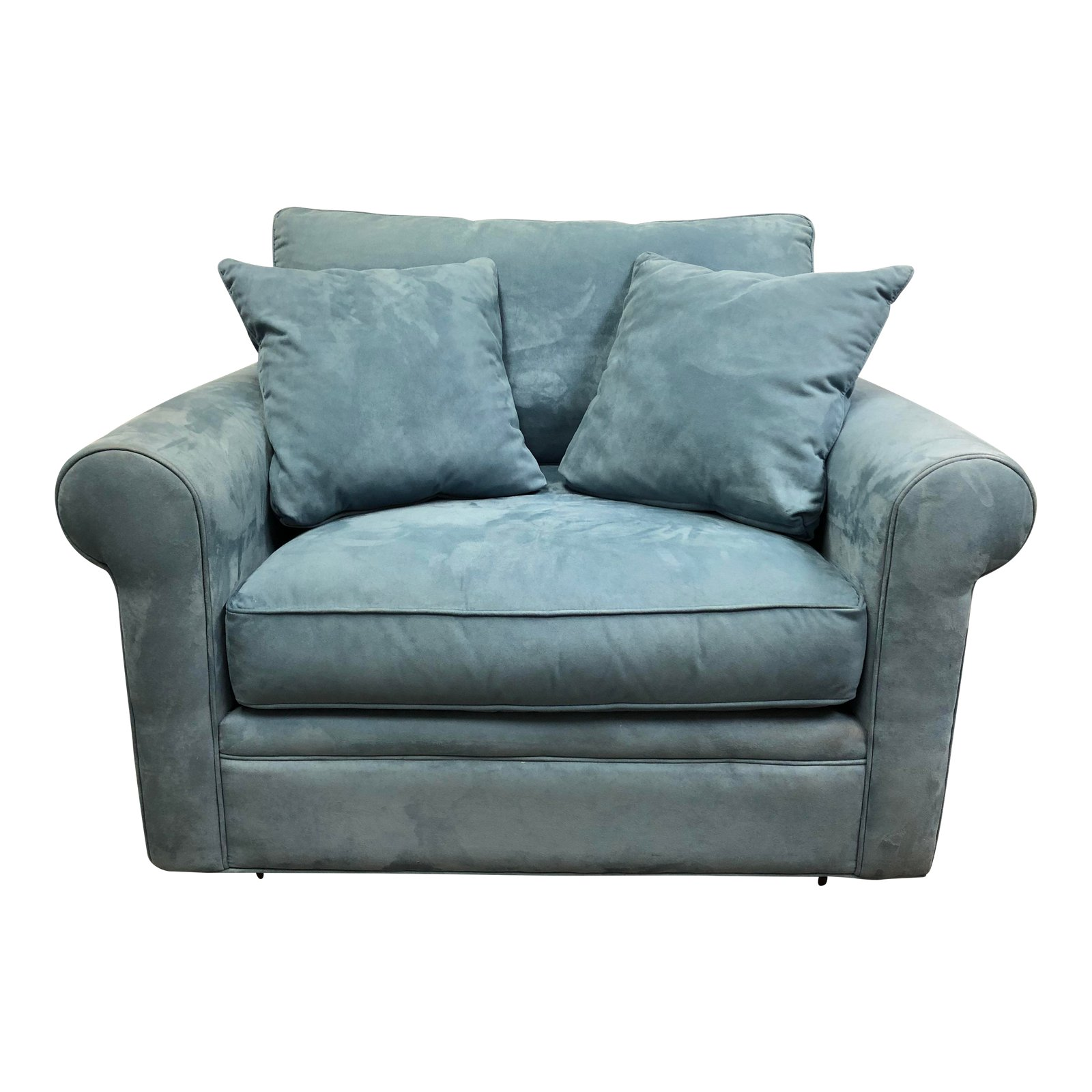 ... Oversized Microfiber Arm Chair. SOLD!