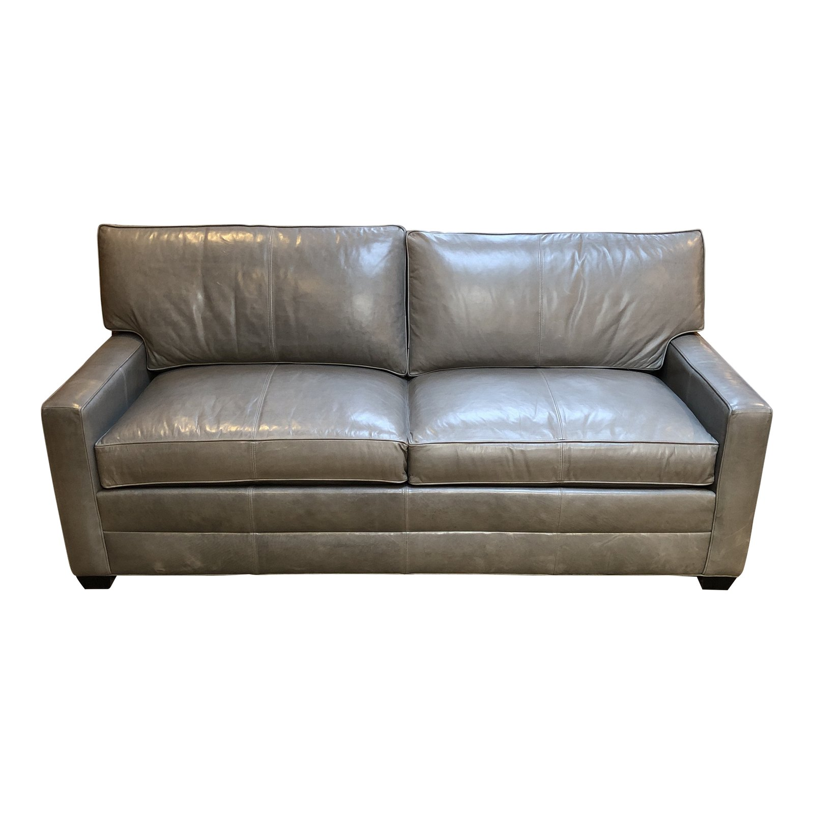 New Bennett Leather Sofa From Ethan Allen Original Price 3 800