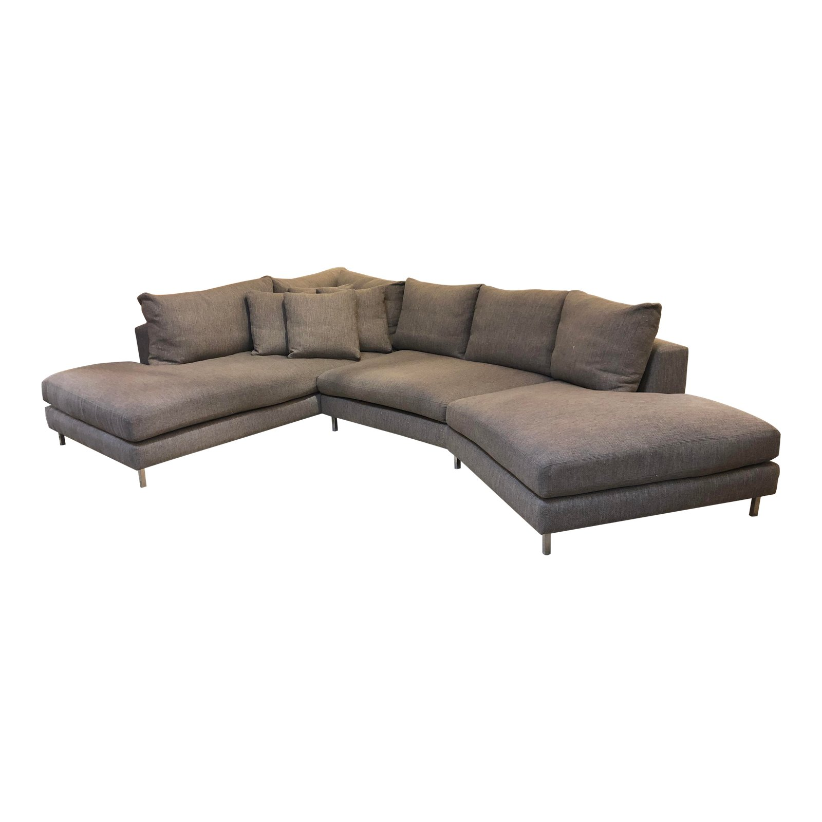 Amazing Room Board Hayes Custom Left Back Angled Sectional Sofa Pabps2019 Chair Design Images Pabps2019Com