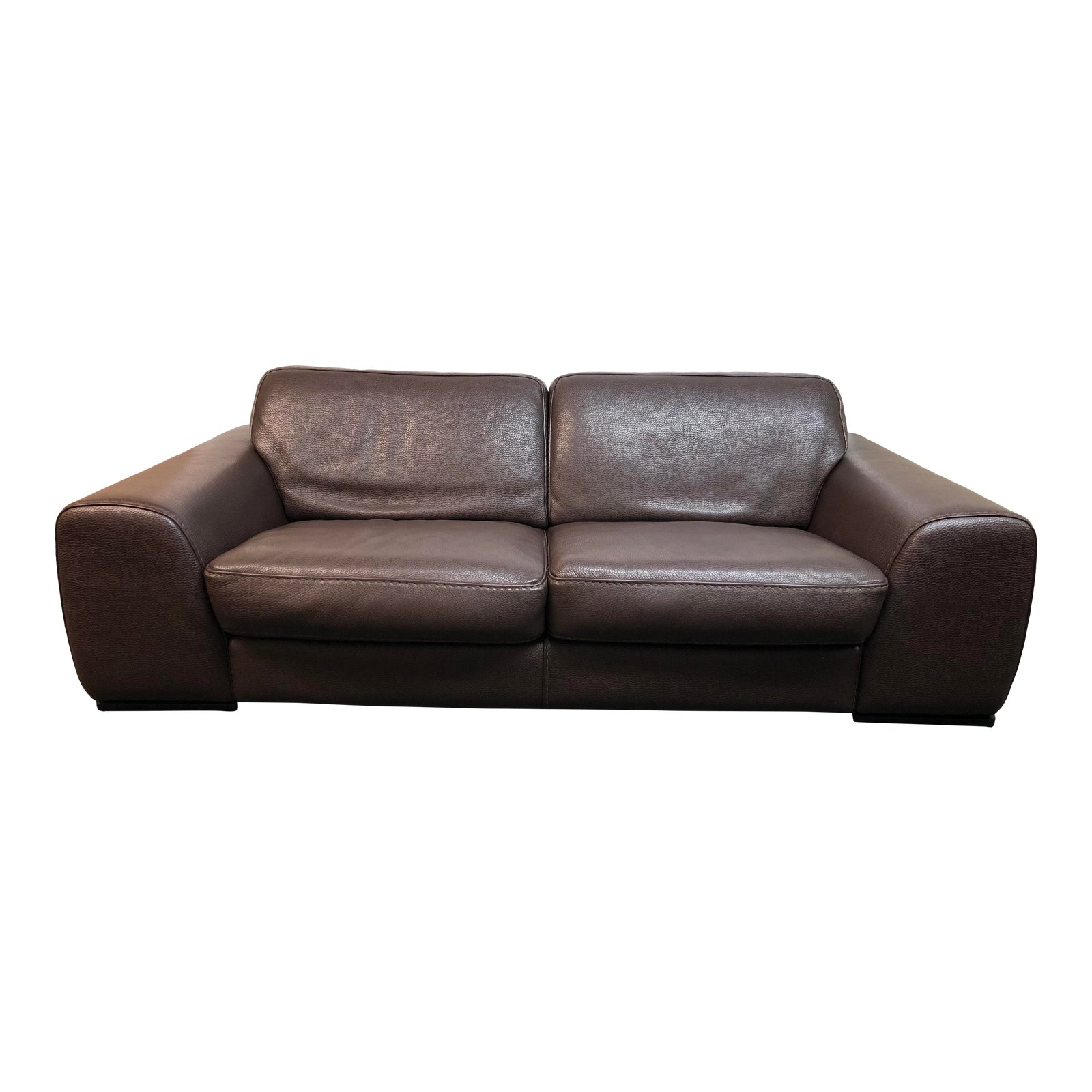 Design Plus Gallery Presents Contemporary Roche Bobois Leather Sofa This Beautiful Three Seat Couch Is
