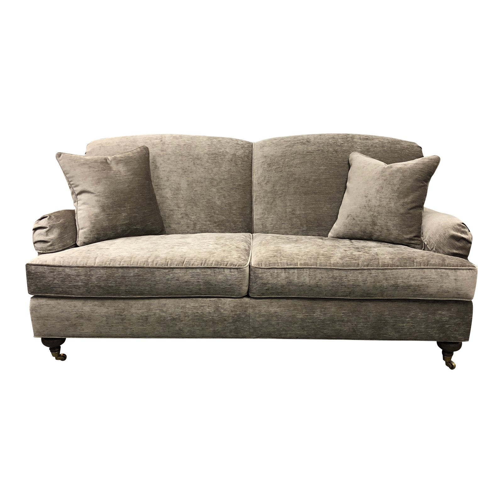 New Ethan Allen Small Oxford Sofa