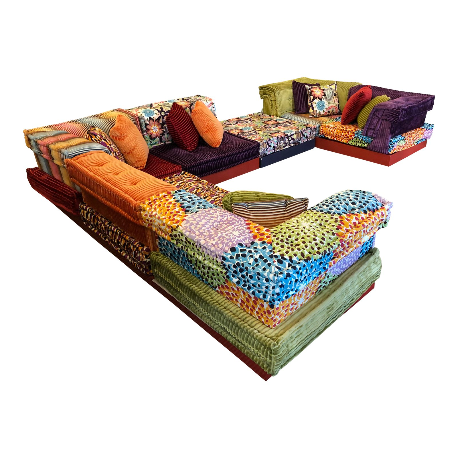 Terrific Missoni Mah Jong Sectional By Roche Bobois Original Price Ocoug Best Dining Table And Chair Ideas Images Ocougorg