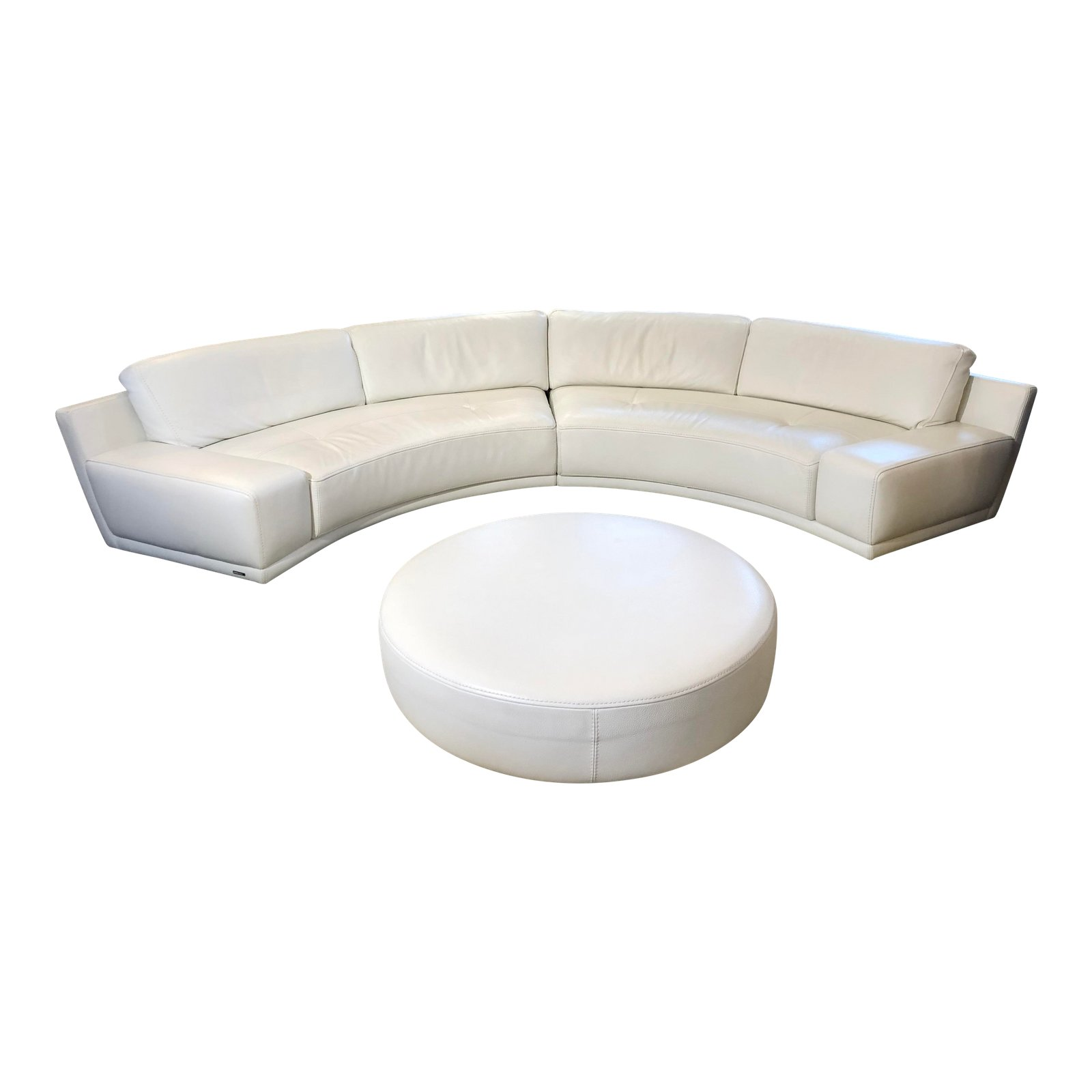 Admirable Solstice Curved Sectional Ottoman From Roche Bobois Ocoug Best Dining Table And Chair Ideas Images Ocougorg