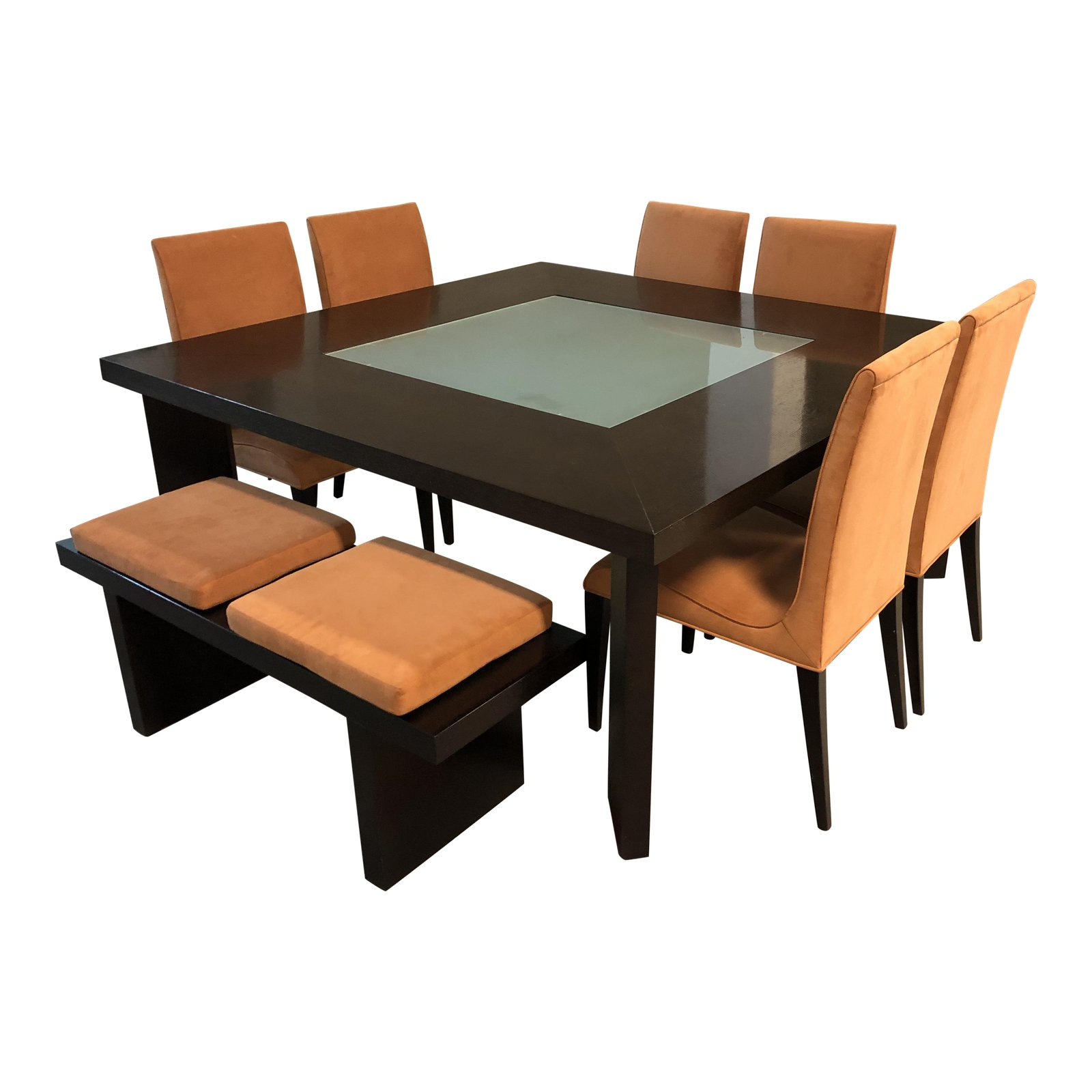 Tremendous Creative Elegance Dining Table Chairs Bench Set Original Price 8 520 Alphanode Cool Chair Designs And Ideas Alphanodeonline