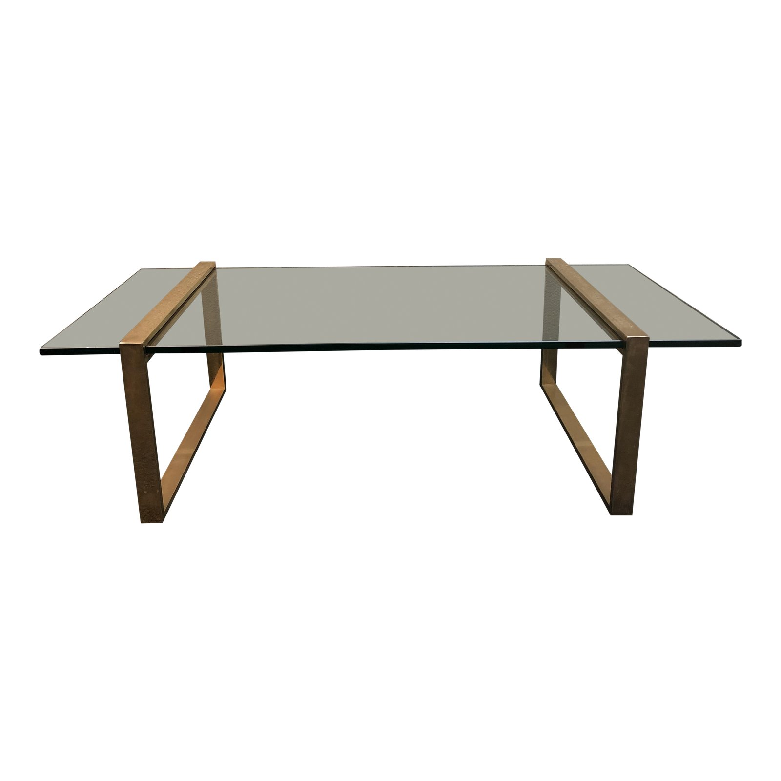 Picture of: Mid Century Brass Glass Coffee Table Design Plus Gallery