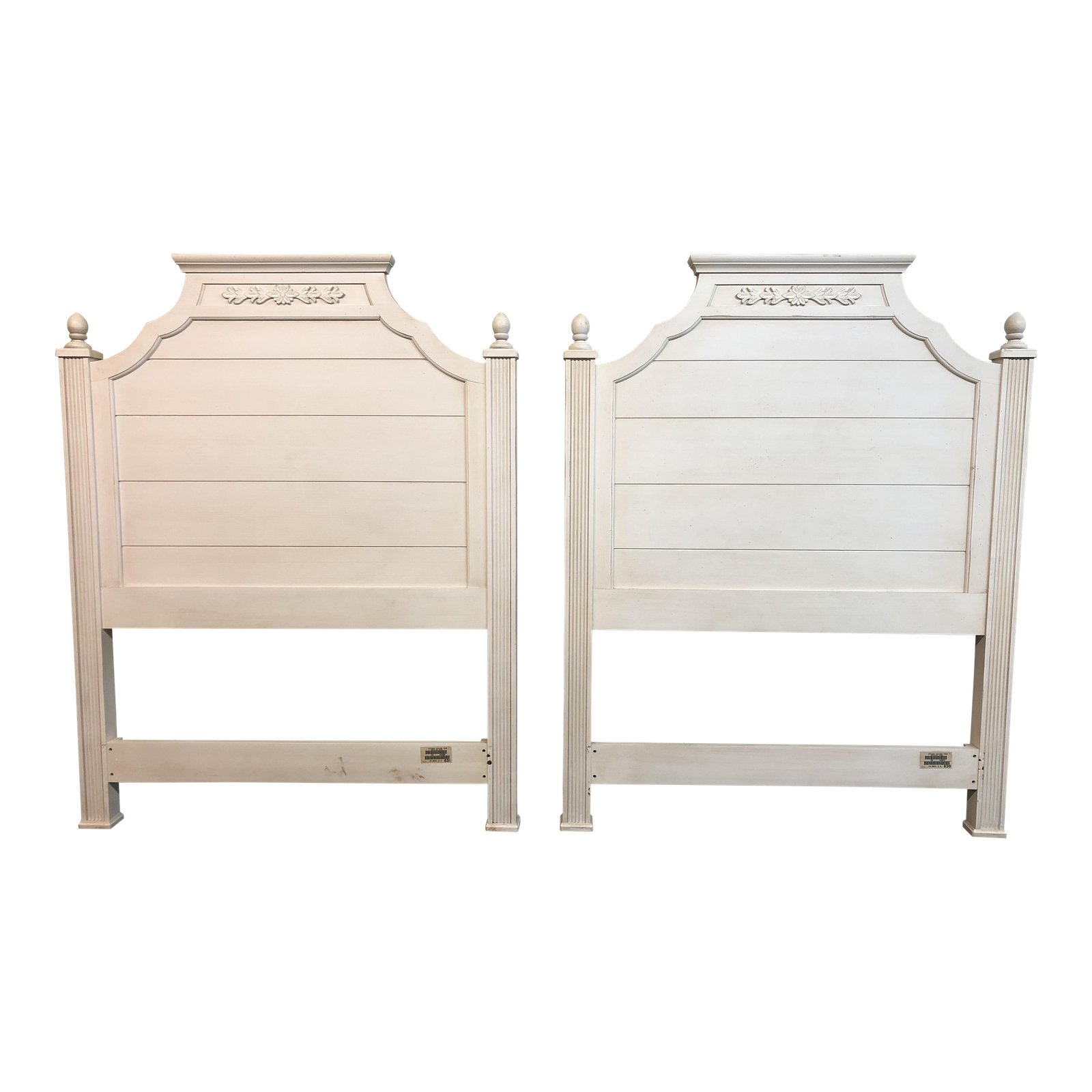Image of: Shabby Chic Ethan Allen Twin Size Headboards Design Plus Gallery