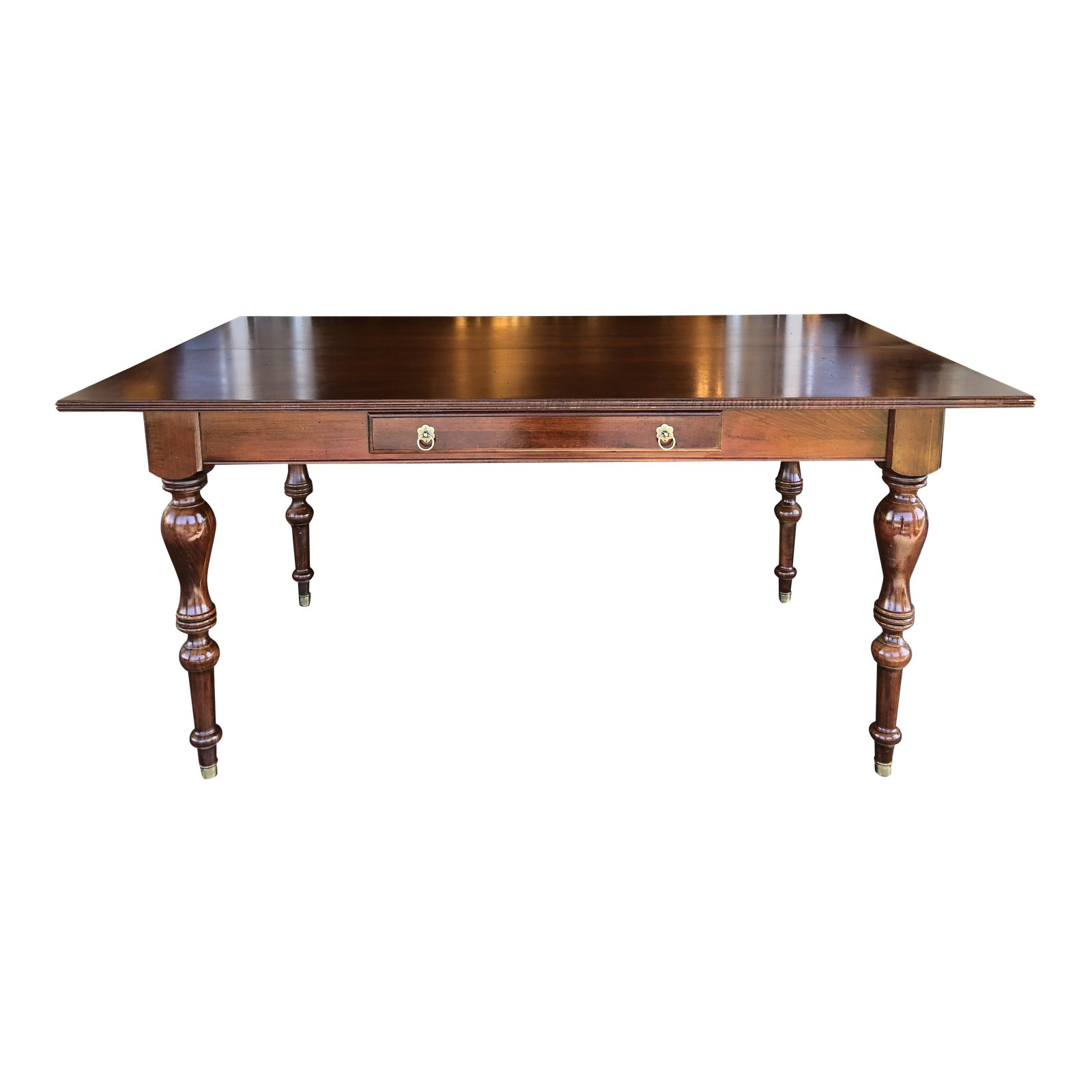British Clics Convertible Console Dining Table By Ethan Allen