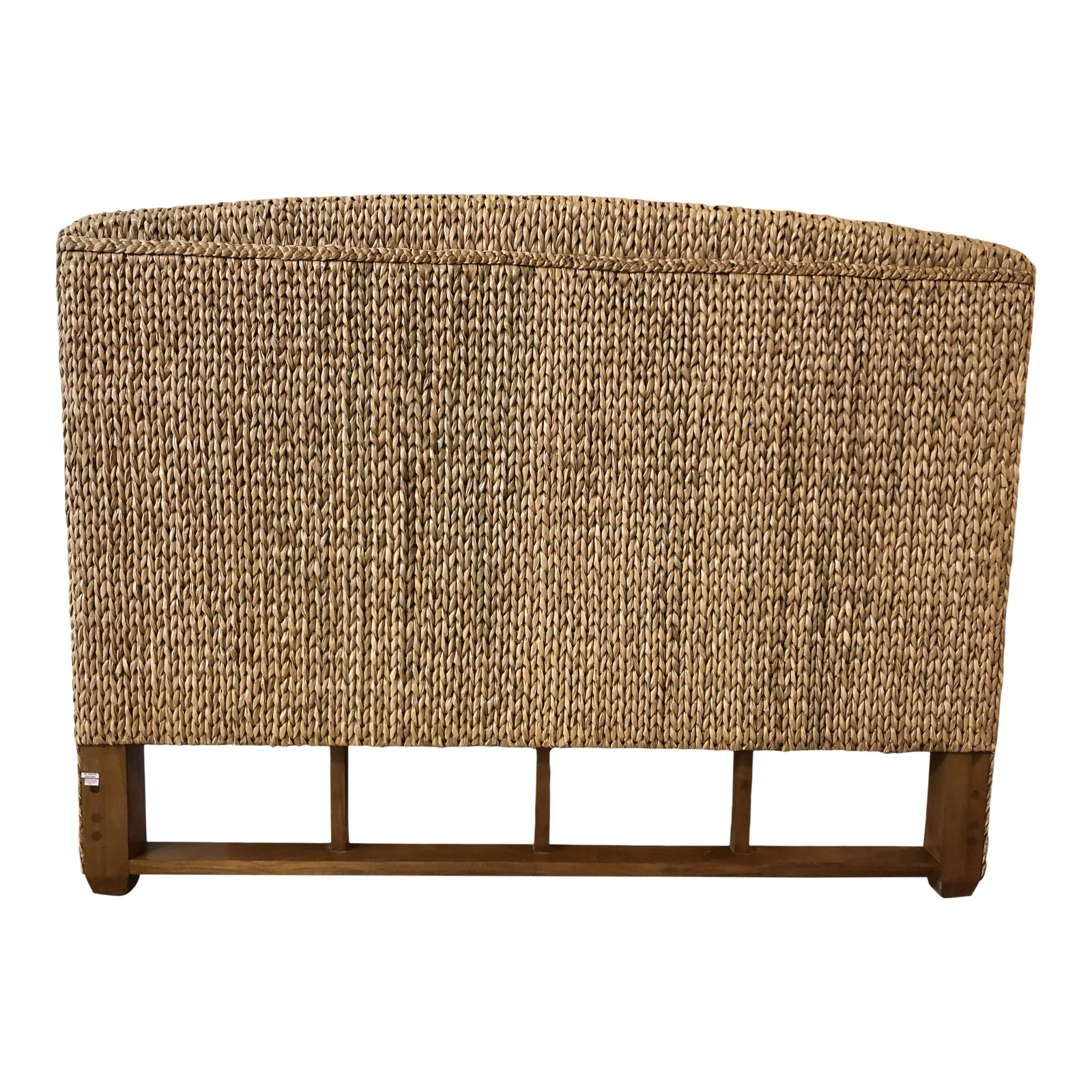 Full Size Seagrass Headboard | Tyres2c