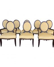 barbara-barry-cross-back-oval-dining-chairs-by-baker-furniture-a-set-of-8-6461