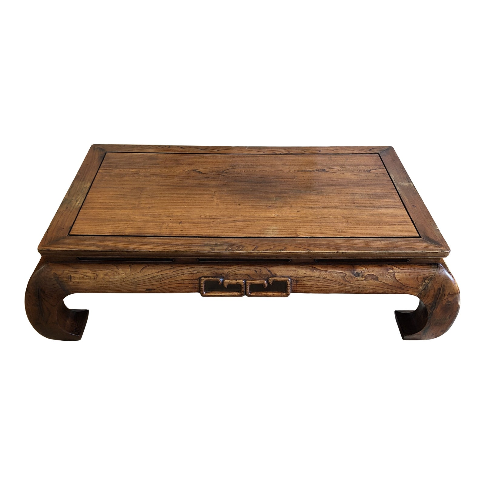 Asian Solid Wood Ming Dynasty Style Coffee Table