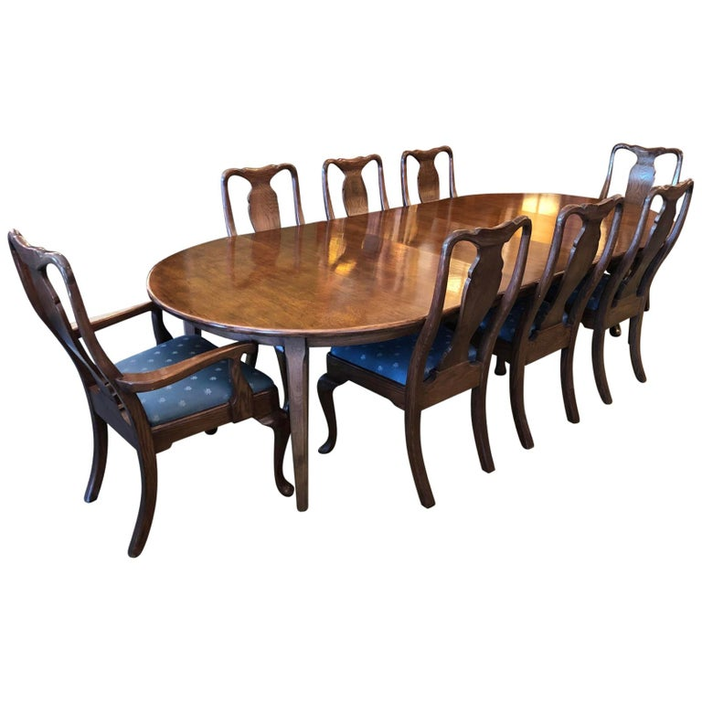 SfOriginal Dining Table8 ChairsFrom Extension Teak Gumps rdBeoCxW