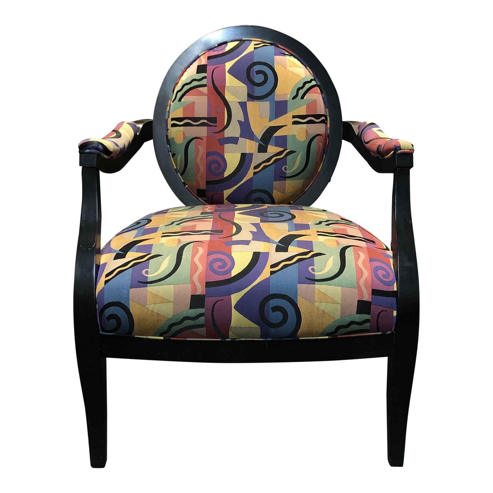 Bold Accent Chair By Sam Moore Furniture Design Plus Gallery