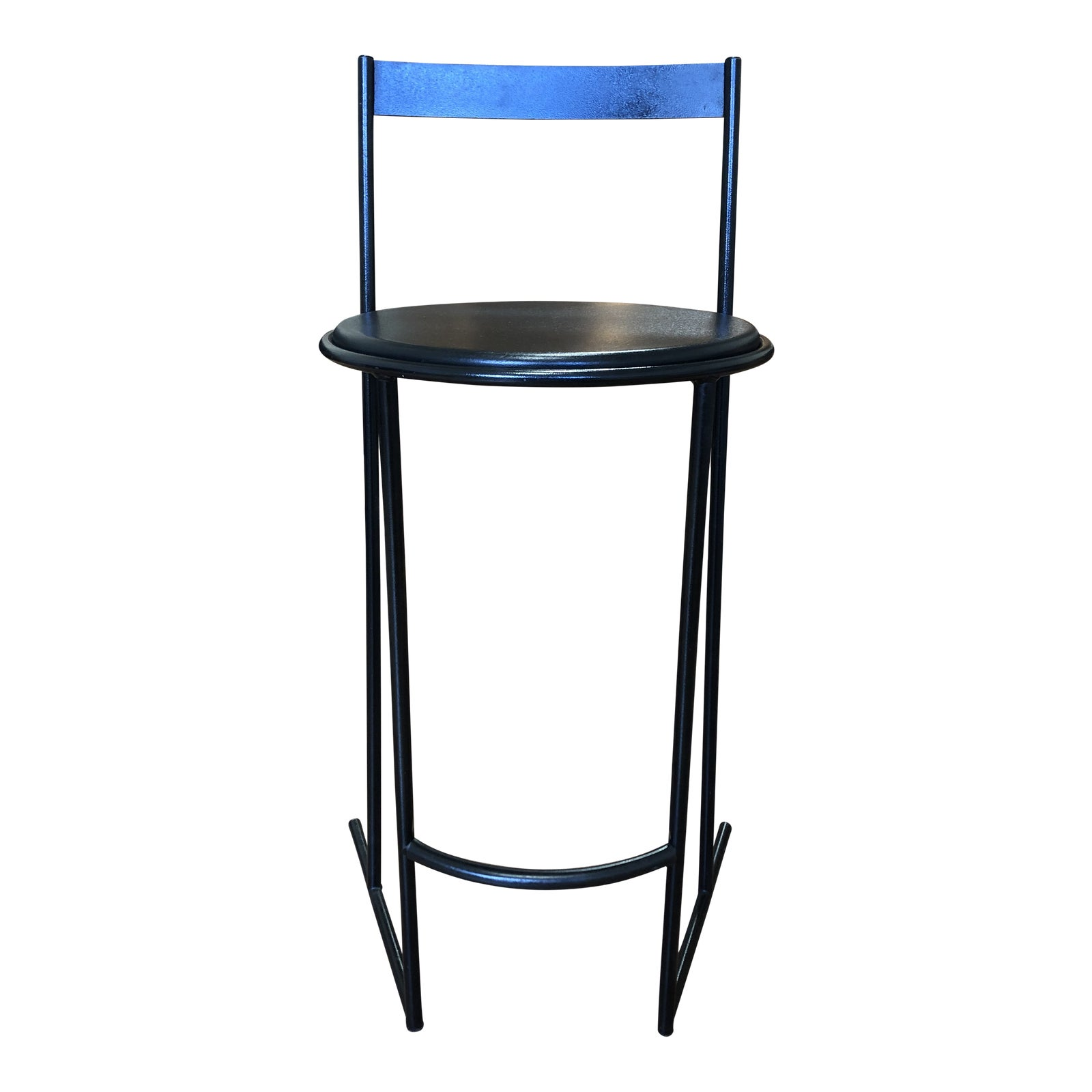 Amazing Flyline Carre Vi Italian Leather Counter Stool Camellatalisay Diy Chair Ideas Camellatalisaycom