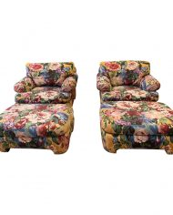 kroll-furniture-floral-lounge-chairs-ottomans-a-pair-5726