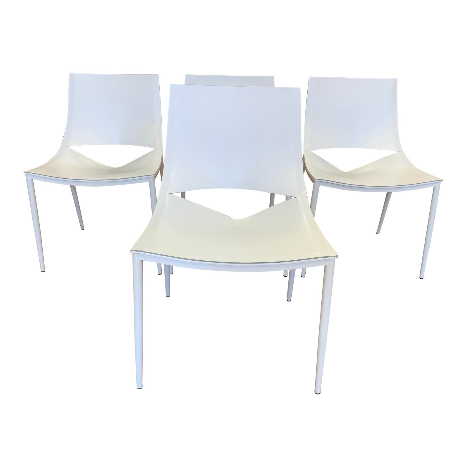 Cool Modloft Marcelo Ligieri Sloane White Dining Chairs Set Of Unemploymentrelief Wooden Chair Designs For Living Room Unemploymentrelieforg