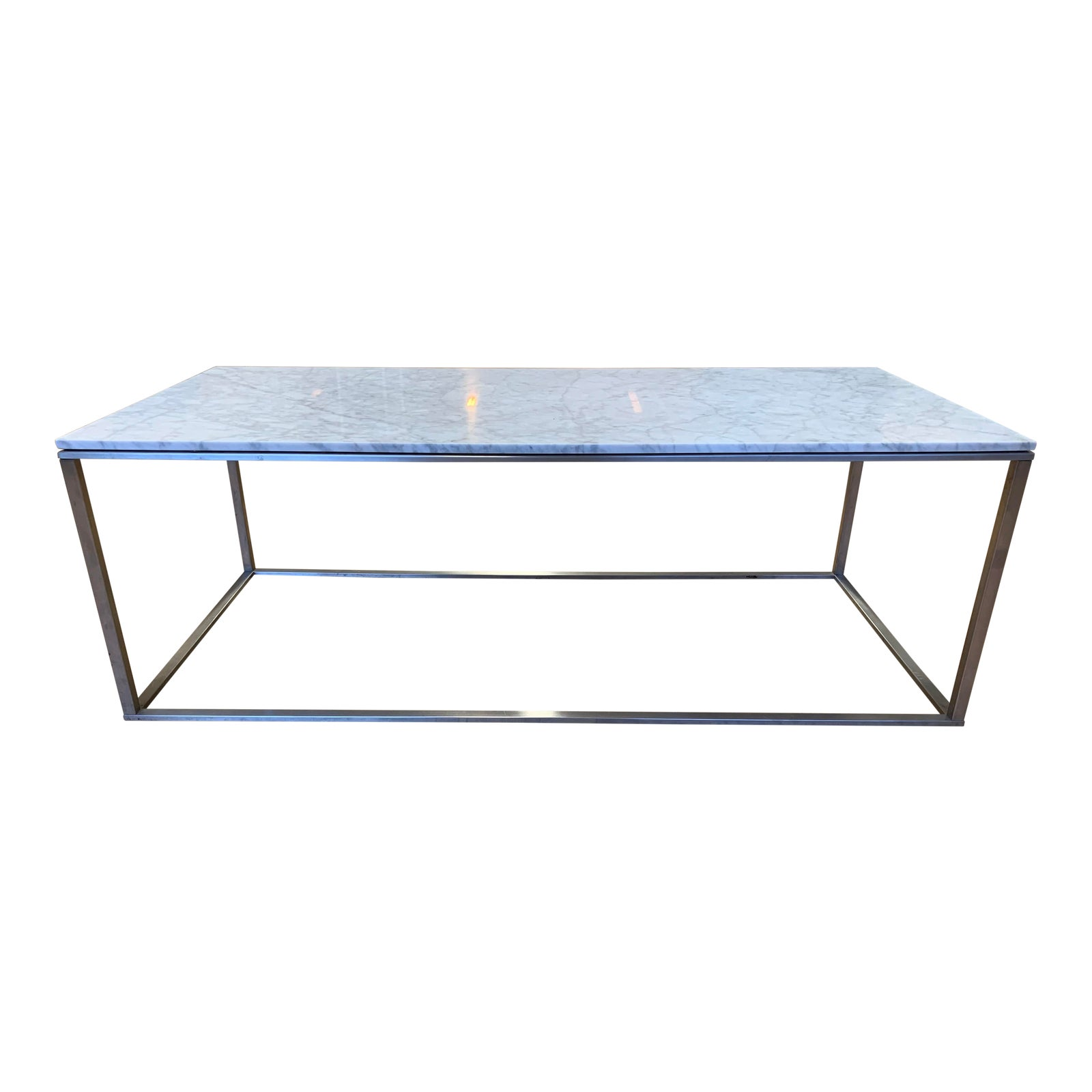 Super Blu Dot Minimalista Marble Coffee Table Original Price Caraccident5 Cool Chair Designs And Ideas Caraccident5Info