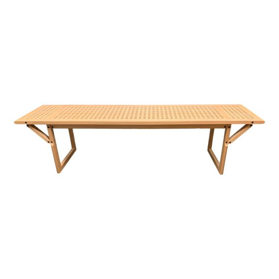 Limn Modern Wood Maple Bench Coffee Table