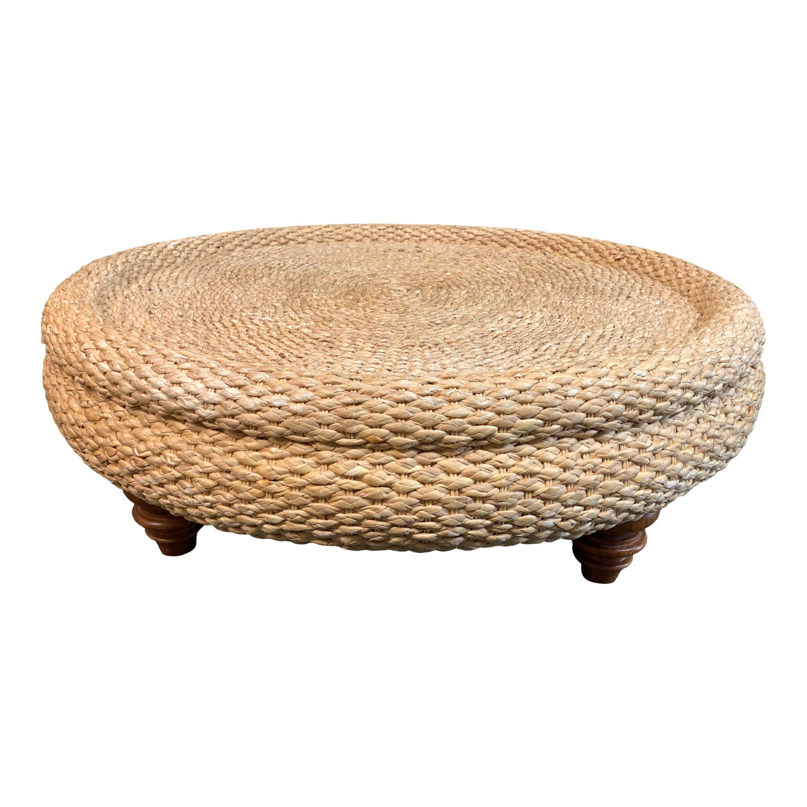 Round Seagrass Coffee Table Design Plus Gallery