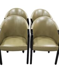 poltrona-frau-dark-green-leather-arm-chairs-set-of-four-4817