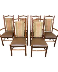 hickory-furniture-custom-wood-leather-chairs-set-of-6-1897-1