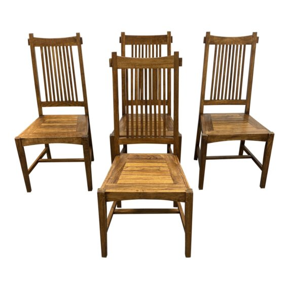 Wooden Duck Craftsman Style Side Chairs, Wooden Duck Furniture