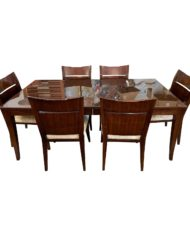 baker-furniture-bill-sofield-cheval-dining-room-table-set-with-six-bill-sofield-dining-chairs-cut-velvet-7611-1