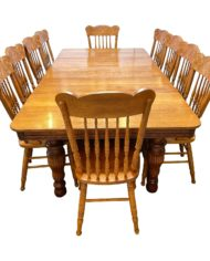 antique-oak-dining-table-10-press-back-chairs-9369